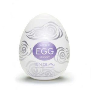 Tenga æg onani æg cloudy udenpå