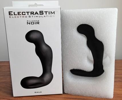 ElectraStim Silicone Noir Sirius Prostate Probe